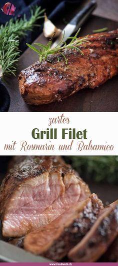 Photo of Grill Filet vom Schwein an Balsamico – Rosmarin Marinade