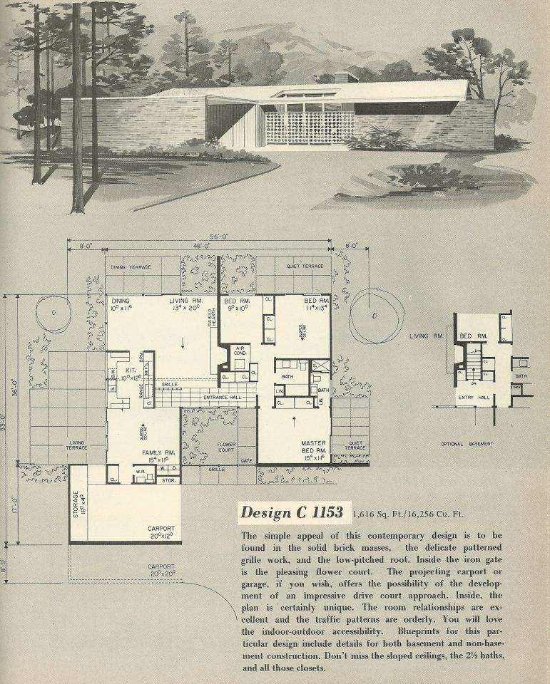 Vintage House Plans 1153 | Antique Alter Ego