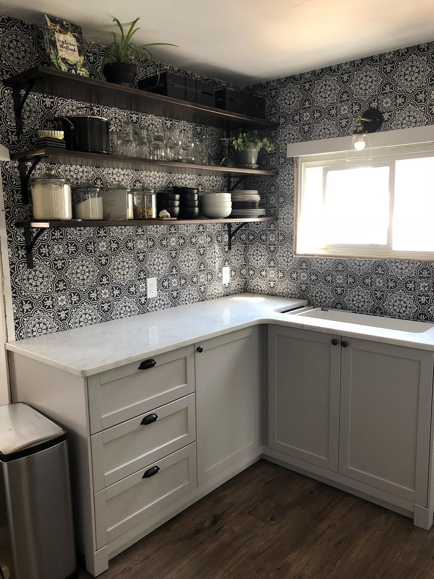 Ikea Lerhyttan Gray In 2020 Ikea Kitchen Cabinets Kitchen Ikea Kitchen
