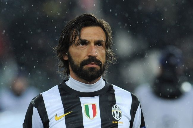 Pirlo, the best middlefielder in the world
