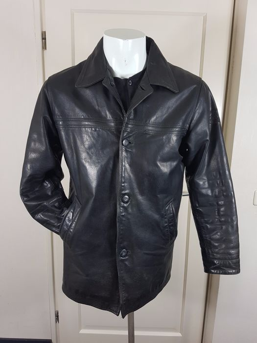 20f8e8a001e Pall Mall Export / PME American Classic - Leather jacket Een geweldige leren  Pall Mall jas