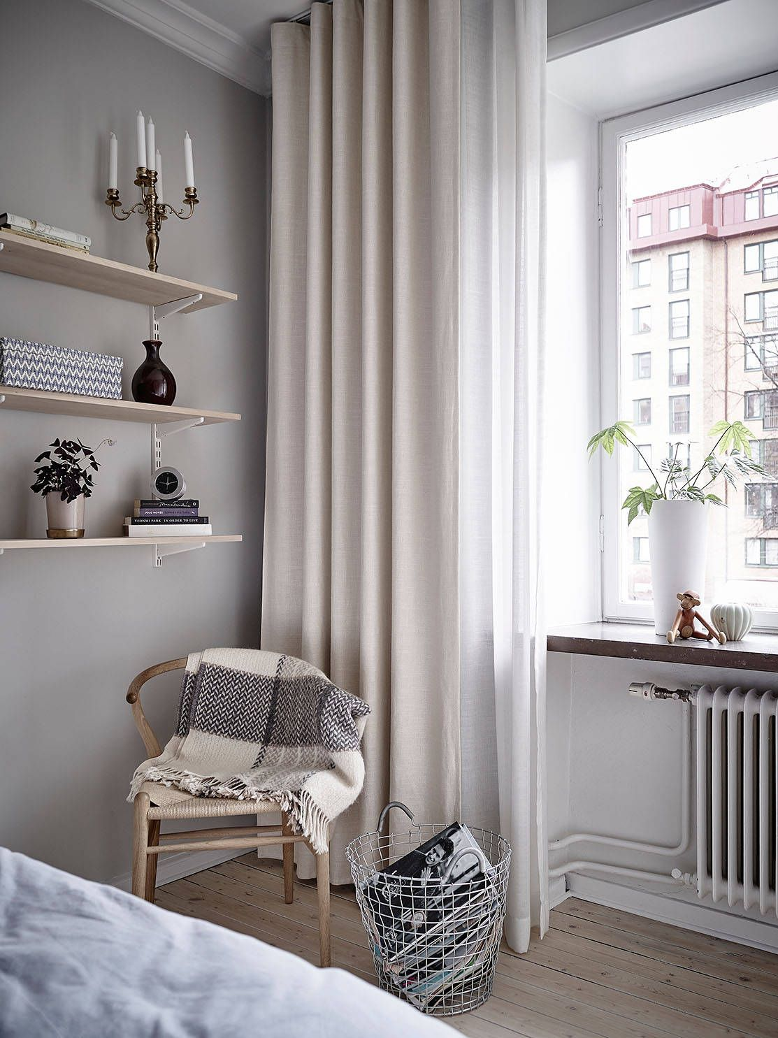 Linnégatan 61 Stadshem Wohnung einrichten, Luxus