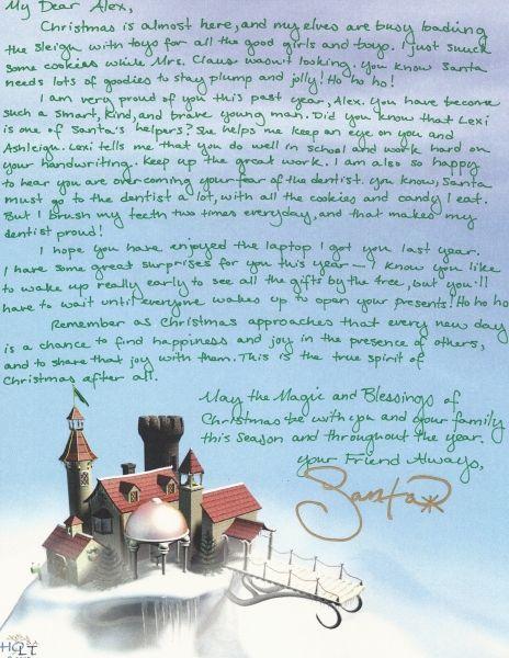 Gift IdeasPersonalized Santa Letters  Custom Letter For  Child