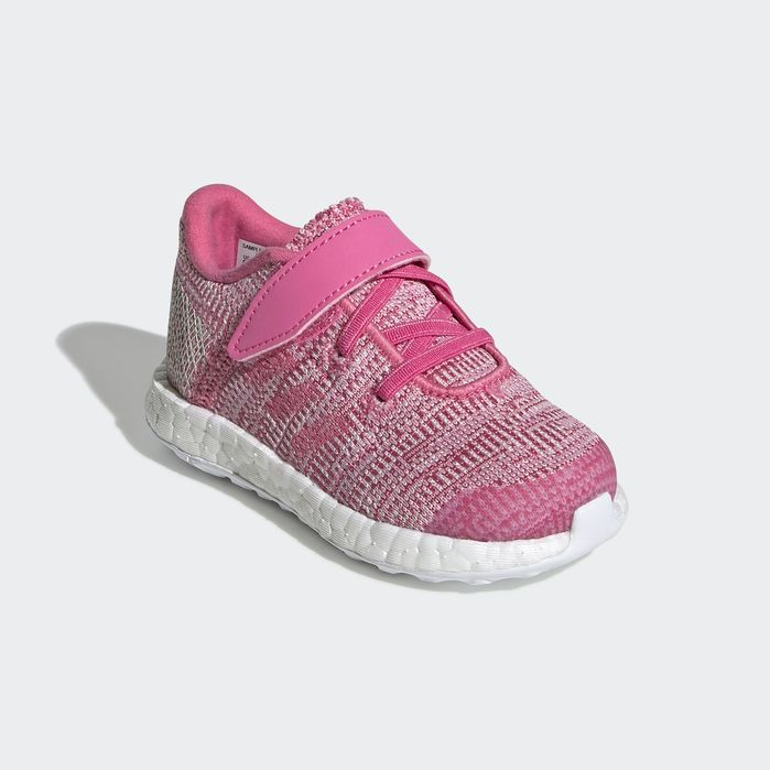3d272b1f2 Pureboost Go Shoes Pink 4K Kids | Products | Pink adidas, Shoes ...
