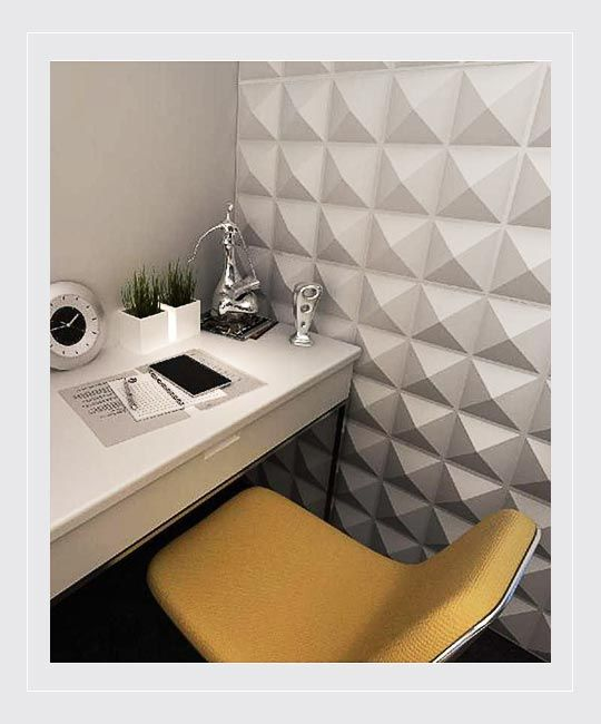 Peel Stick 3d Wall Panel Diamond Design 12 Panels 32sf 3d Wall Panels Wall Paneling Brick Decor