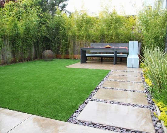 Diseos de patios y jardines minimalistas 17 Pinterest Jardn