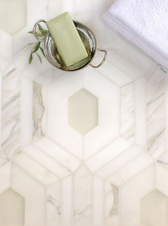 White Marble With Gl Imperial Tile Stone North