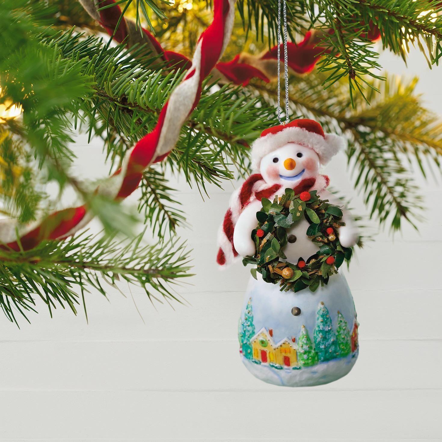 Hallmark Snowman Ornaments Comfy Christmas