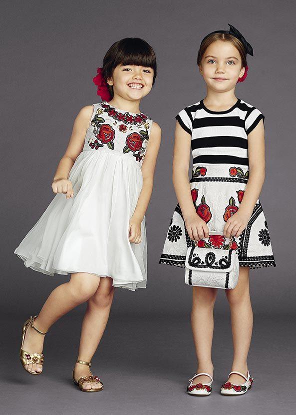 623ecd881 Dolce & Gabbana Children Winter Collection 2016   Kids Fashion ...