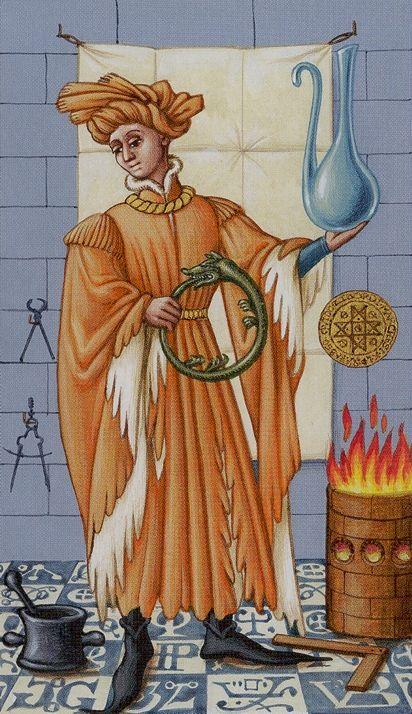 The Magician - Medieval Tarot