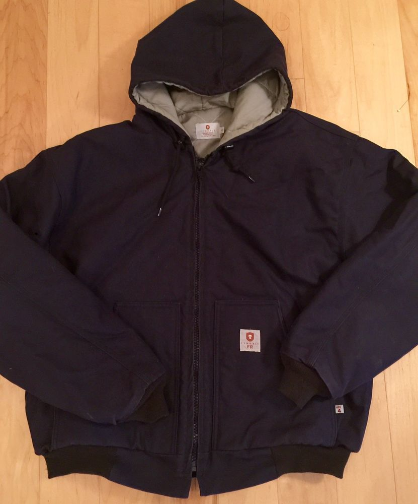 TYNDALE FR Jacket XL Flame Resistant HRC 4 Insulated Canvas