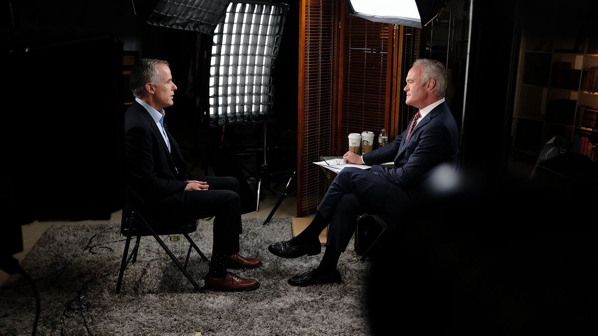 Former acting FBI director Andrew McCabe tells 60 Minutes