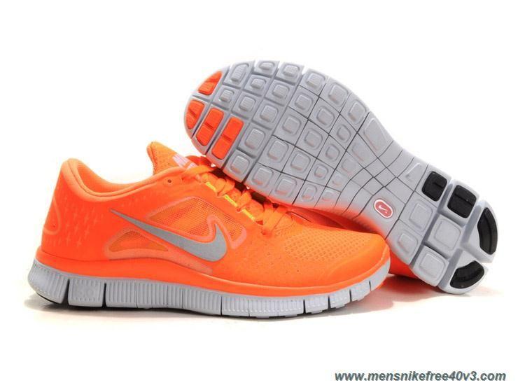 wholesale dealer cb6ff 0e9cd Discounts Vivid Orange Reflect Silver Pure Platinum Volt Nike Free Run 3  Mens 510642-801