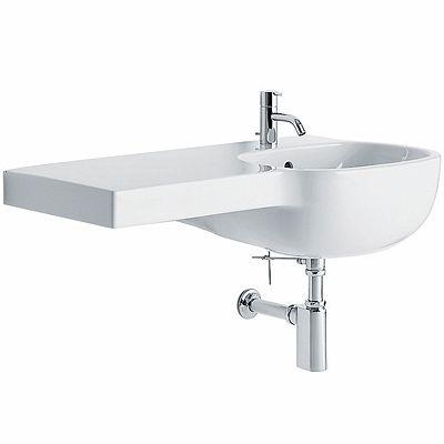 asymmetrical washbasin 90 left – Washbasins - Pozzi Ginori ...