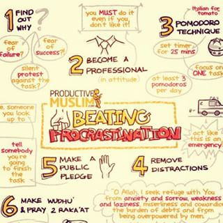 Use guided mediation. Start with Beat Procrastination. | 21 Clever Tricks All Procrastinators Should Know