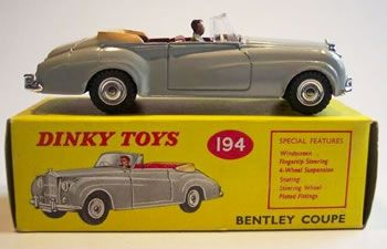 Bentley by Dinky Toys 166
