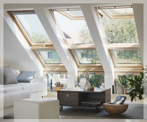 Velux skylight.