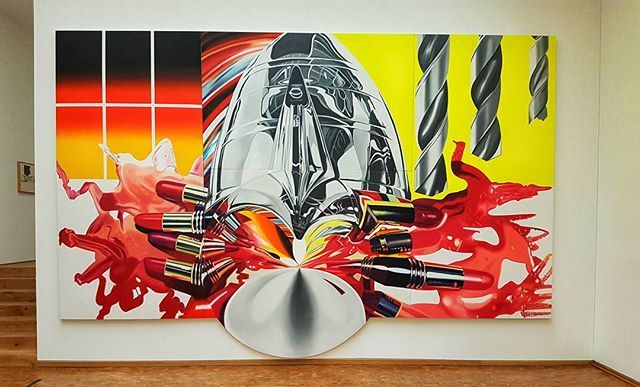 Pop Art by Rosenquist #Art #Painting #PopArt #Kunst #Museum #Ludwig ...