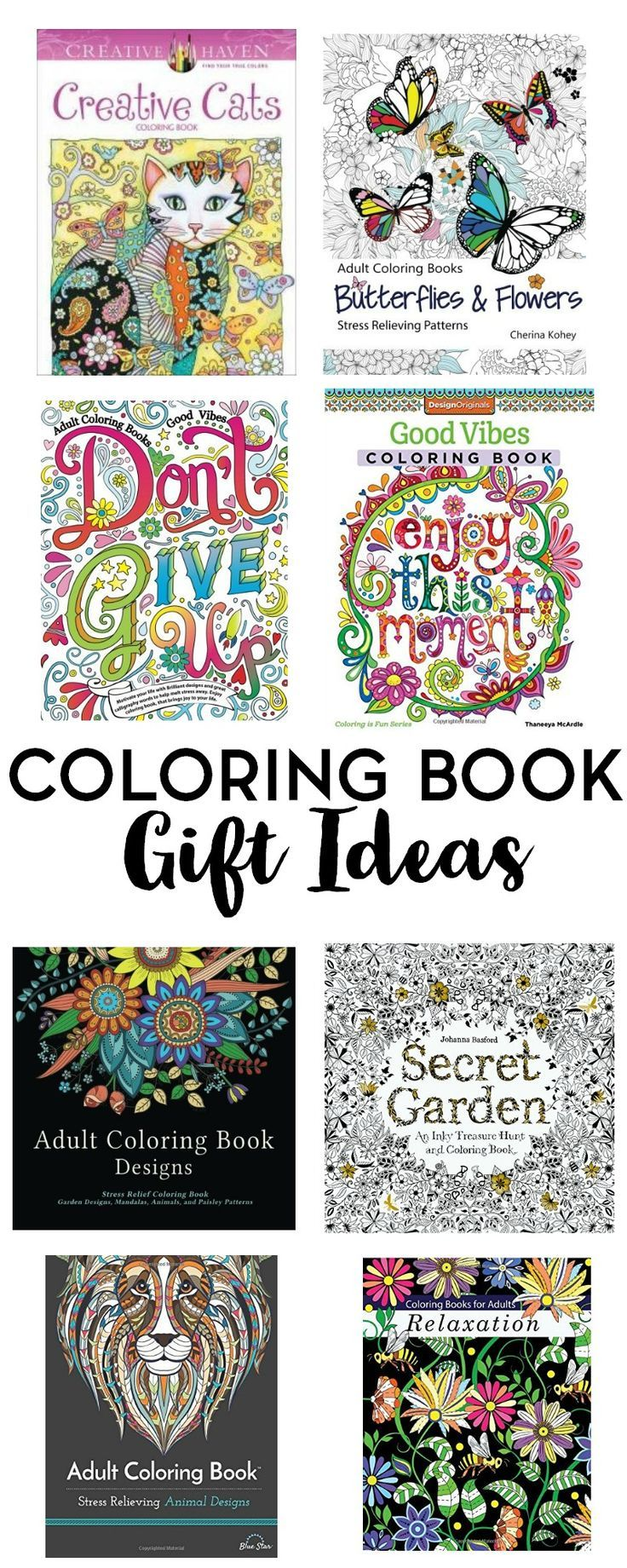 Coloring Books Are No Longer Just For Kids Gift Yourself Or Someone Else In Your Life With One Of These Book Ideas Dont Forget The Pencils