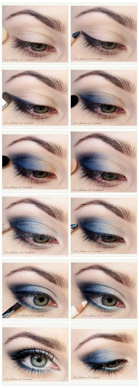 11 Einfache Schritt Für Schritt Make Up Tutorials Für Anfänger // #Anfänger ... -  #anfanger ... #makeupeyeshadow