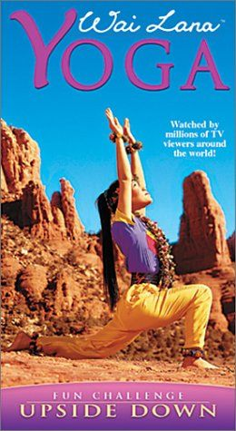 wai lana yoga upside down vhs  check this awesome