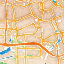 Custom Watercolor Maps #maps #diy #printable