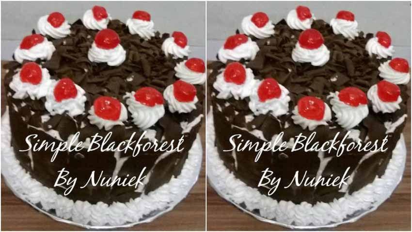 Resep Simple Blackforest Steamed Resep Kue Cokelat Kue
