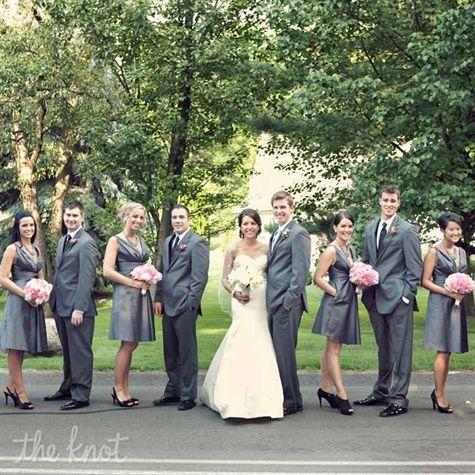 Gray Wedding Party Attire I Don T Like
