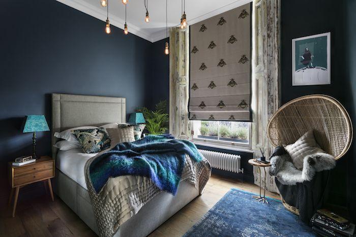 Camera Da Letto Blu Cobalto : ▷ 1001 idées pour choisir une couleur chambre adulte anz at the