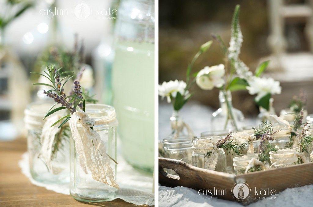 Vintage Weddings  |  Mason Jars  |  Lemonade  |  Rosemary  |  Lavender  |  Lace  |  Aislinn Kate Photography + Hemstitch Vintage Rentals  (Pensacola Weddings)