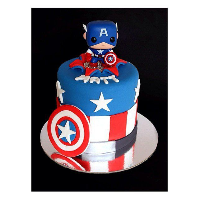 the captain conquers how cute is this cake topper source instagram user aphoto superhero