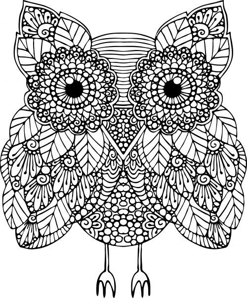 Advanced Animal Coloring Page 17 | Animal and Kid activities