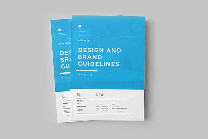 Modern Corporate Brochure Templates  Design Shack  Design