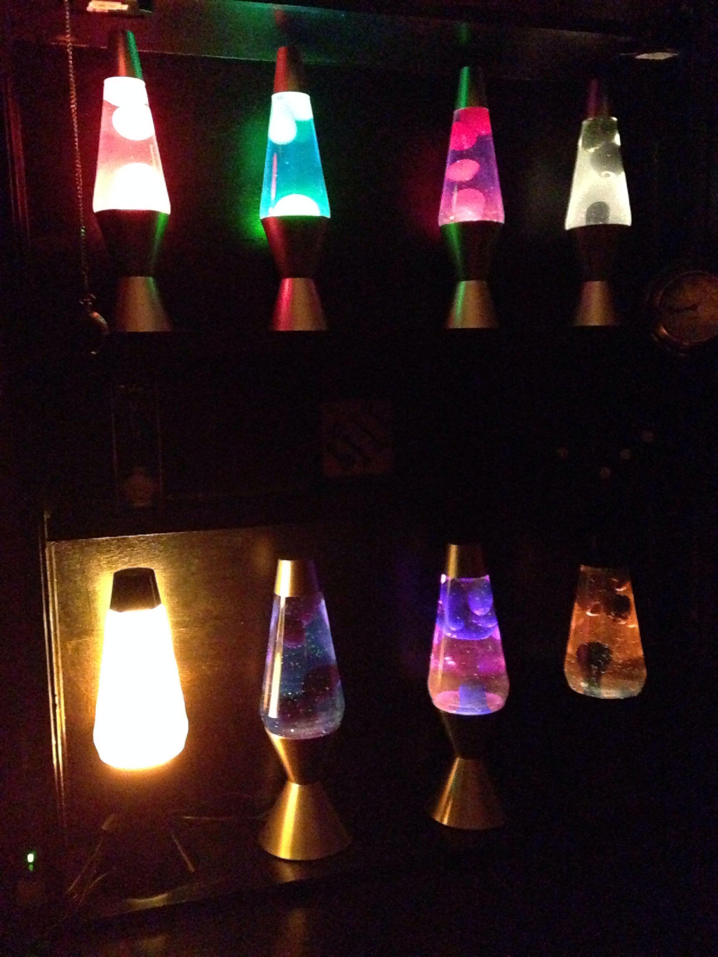 Lava lamp room - Updated Main Lava Lamp Shelf