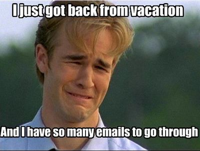 Going Back To Work After Vacation The Blu Group Problem Meme Funny Mormon Memes First World Problems