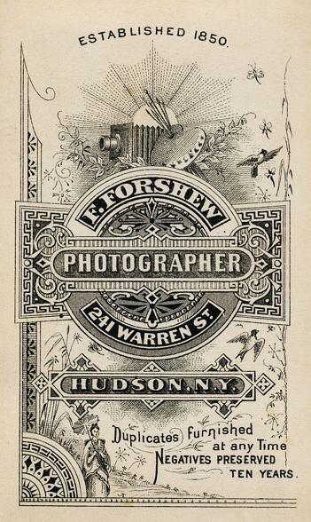 F. Forshew vintage aged ephemera ad