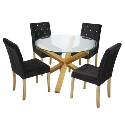 Amazing Brayden Studio Valle Dining Table And 4 Chairs Products In Uwap Interior Chair Design Uwaporg