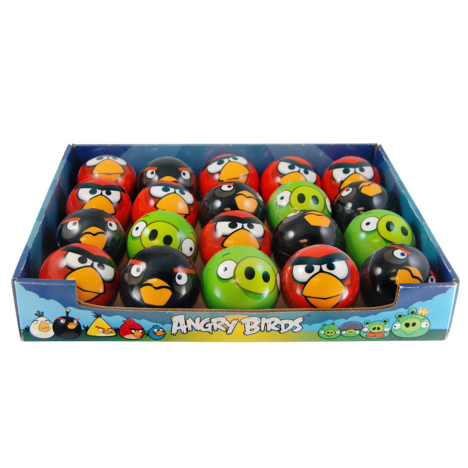 Angry Birds Party Favor - Bouncy Ball Bird Birthday Parties