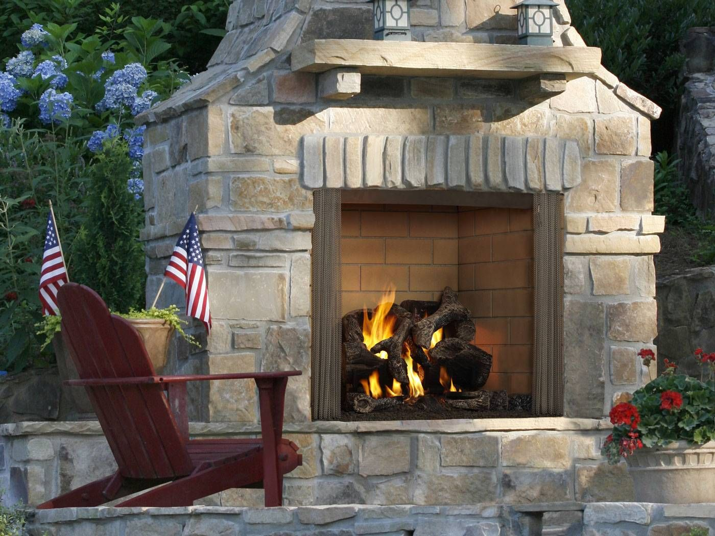 Home Outdoor Wood Burning Fireplace Outdoor Wood Fireplace