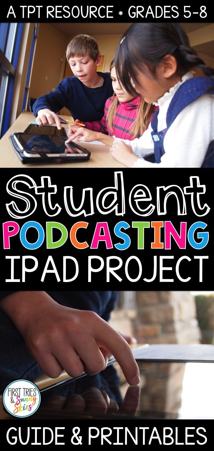 Student Podcasting Project How to Create Podcasts