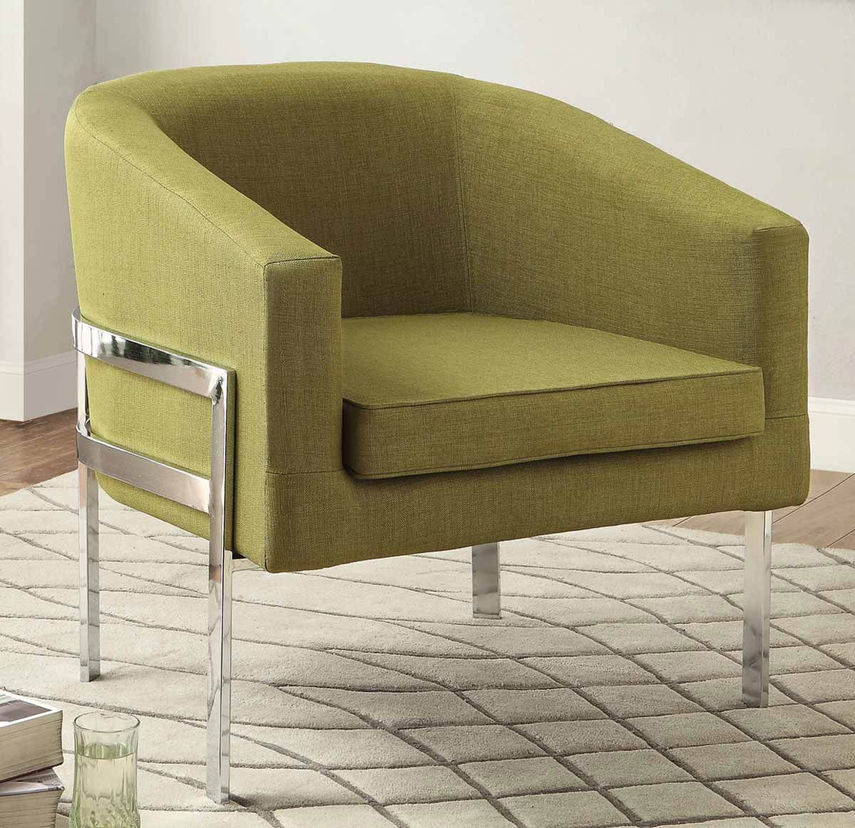 Coaster 902531 Accent Chair Green With Images Fabric Accent