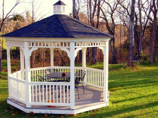 Great gartenpavillon bauen gartengestaltung rund