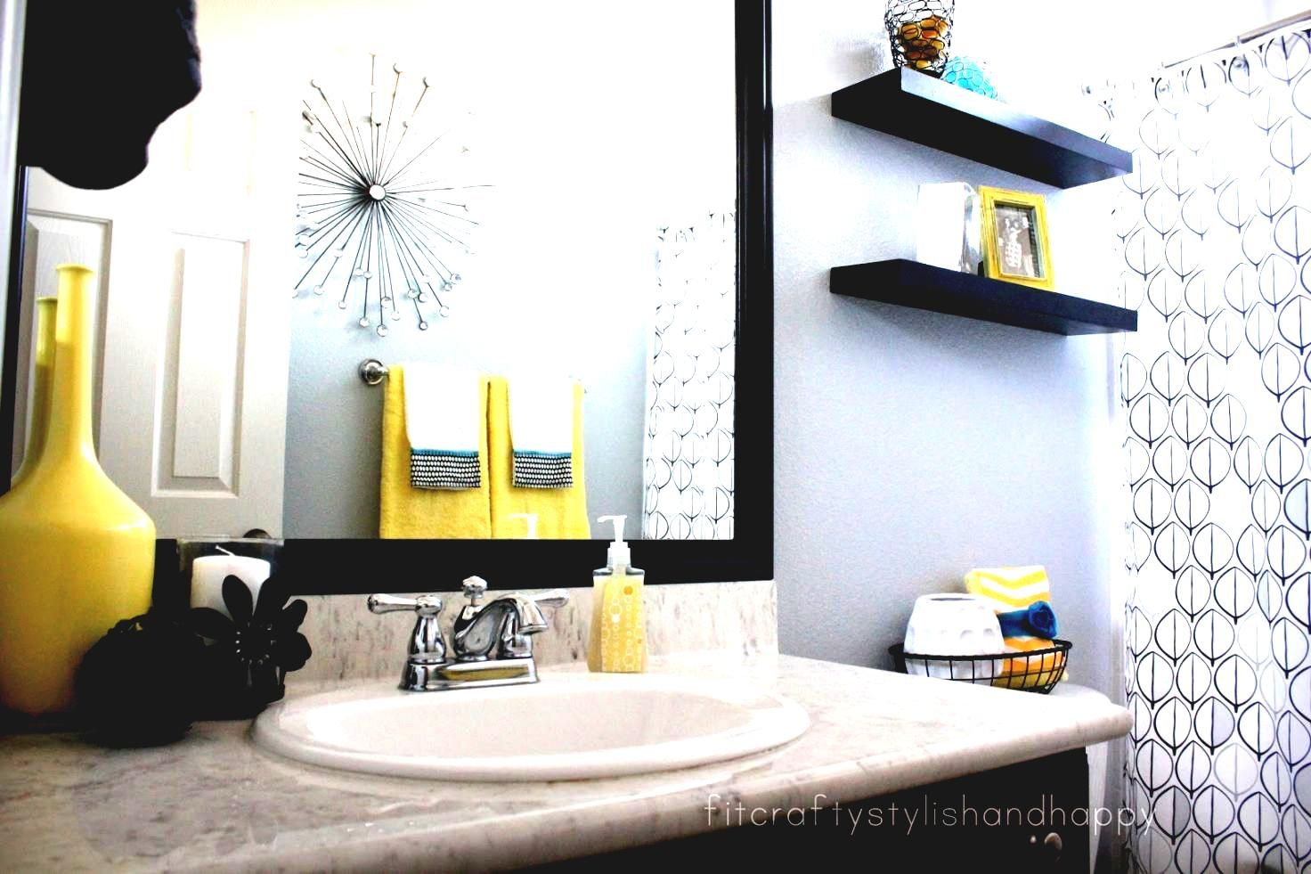 ideas decorating for bathrooms mature chic idea black white gray and ...