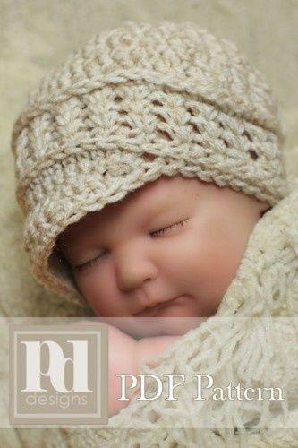 Newborn Crochet Pattern | Crochet & knit | Pinterest | erstes Baby ...