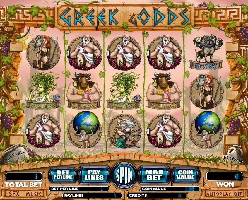 Greek Gods! For more online games, register on our website