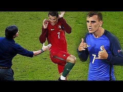 EURO 2016 ☆ Lustigste Fussball Momente CR7☆Lustige montage