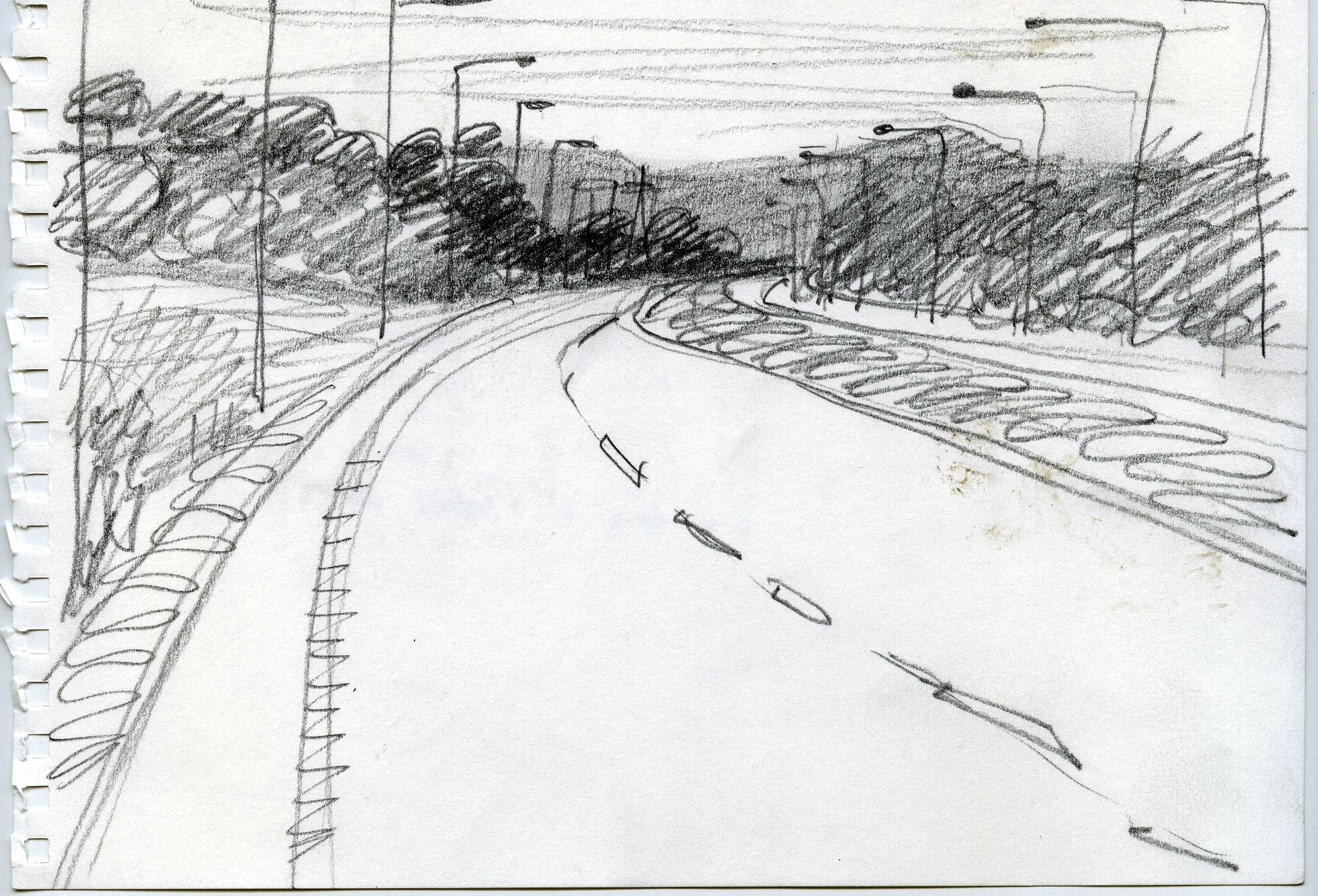 road drawing black and white - Google Search | Drawing | Pinterest