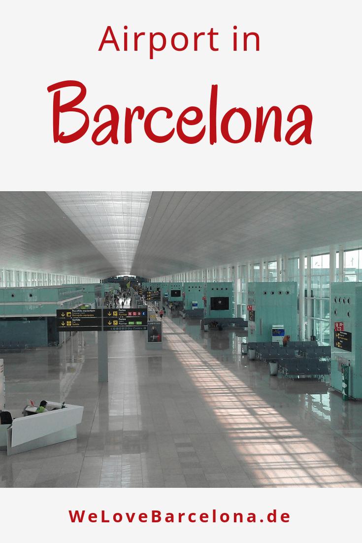 El Prat Flughafen in Barcelona Ankunft und Abflug