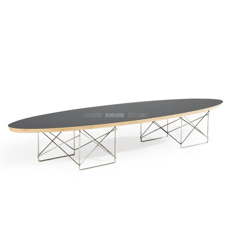 table ellipse inspiration de charles eames reproduction de meubles tables basses pinterest. Black Bedroom Furniture Sets. Home Design Ideas