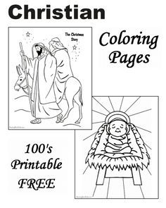 Bible Christmas Story Coloring Pages 25 Free Printable Coloring Pages Colorin Nativity Coloring Pages Christmas Coloring Pages Sunday School Coloring Pages